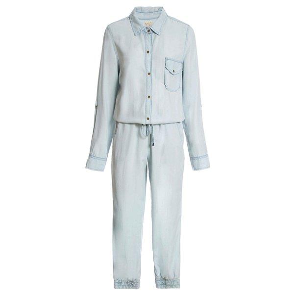 Macacão Pijama Liso
