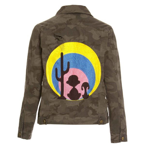 Jaqueta Camuflada Snoopy Color