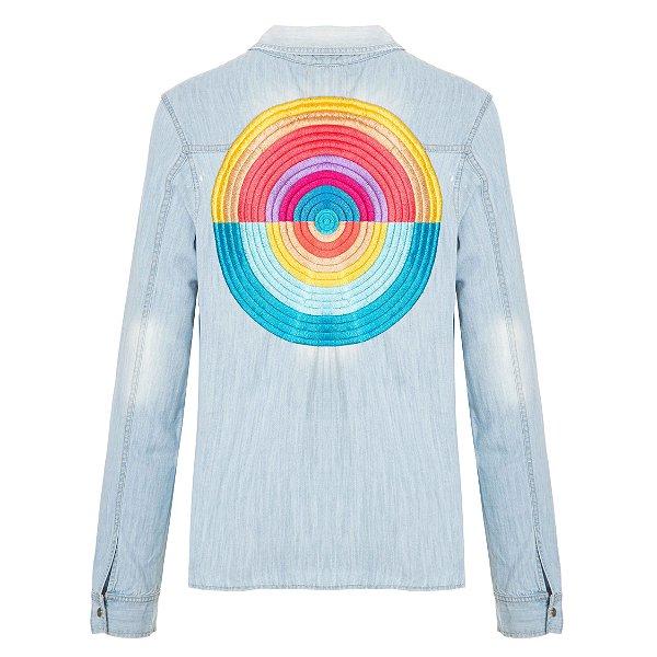 Camisa Jacket Bola Rainbow