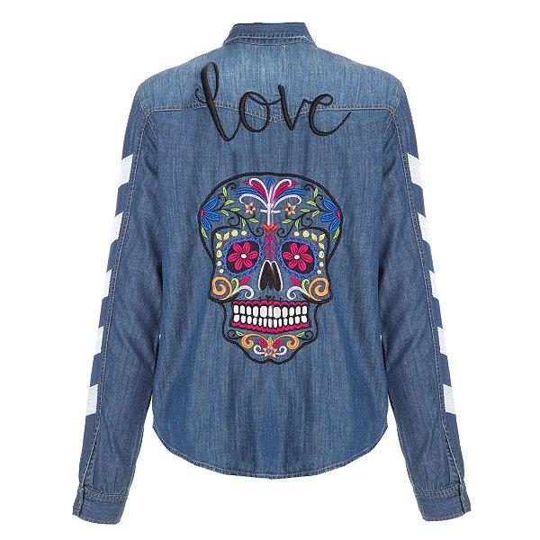 Camisa Jacket Caveira Love