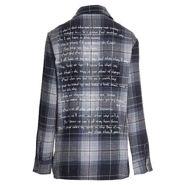 Camisa Xadrez Letra Música