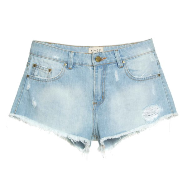 Shorts Liso Claro