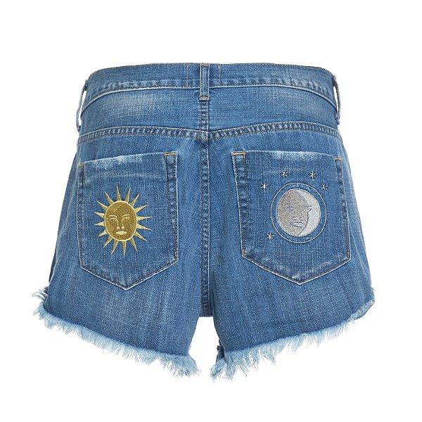 Shorts Baixo Lua e Sol