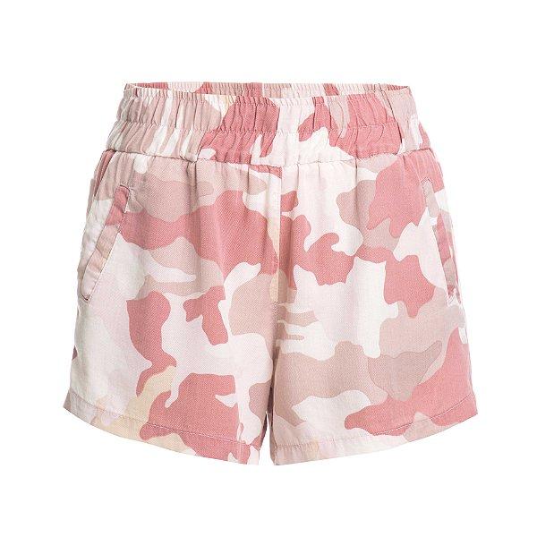 Shorts Pijama Camuflado Rosa