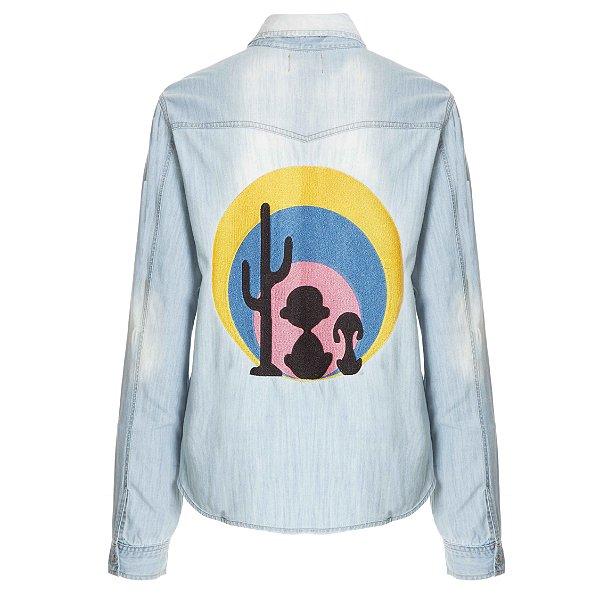 Camisa Jacket Por do Sol Snoopy