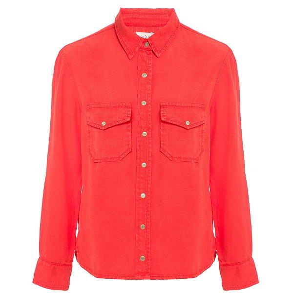 Camisa Lisa Tomate