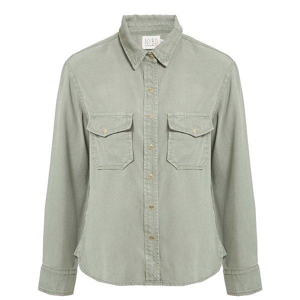 Camisa Lisa Militar Novo