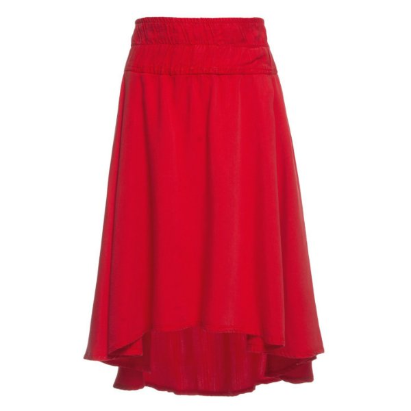 Saia High Waisted Midi Tomate