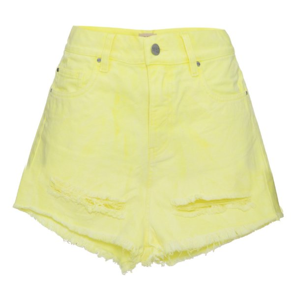 Shorts Destroyed Lime Neon Mica Rocha