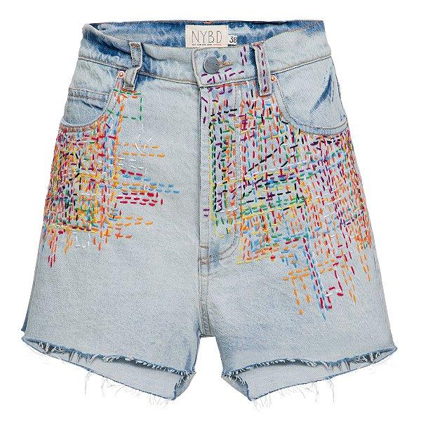 Shorts Básico Pesponto