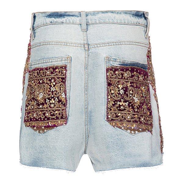 Shorts Básico Índia Rosa