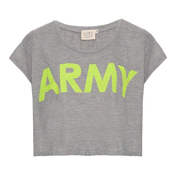 Camiseta Army Mescla
