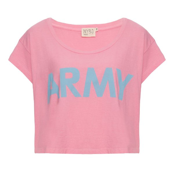Camiseta Army Rosa