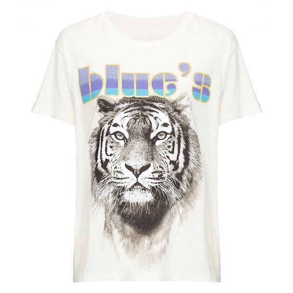 Camiseta Blues Offwhite