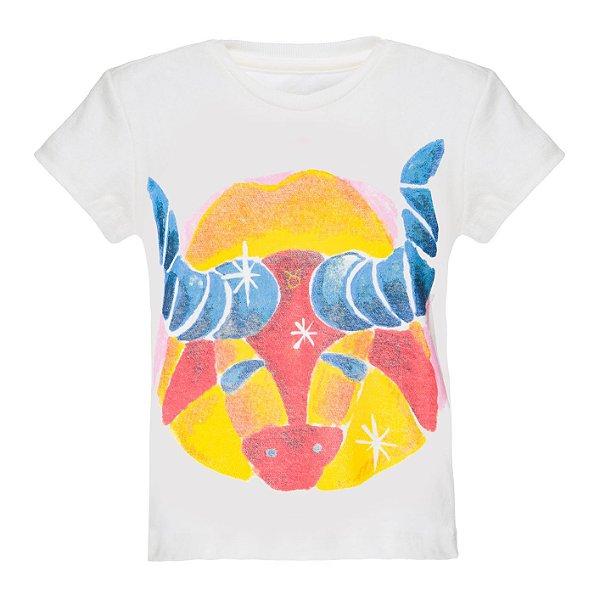 Camiseta Infantil Signos Touro