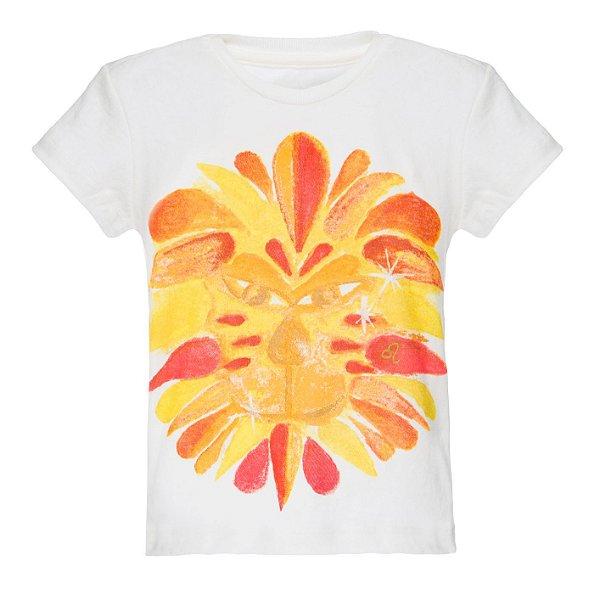 Camiseta Infantil Signos Leão