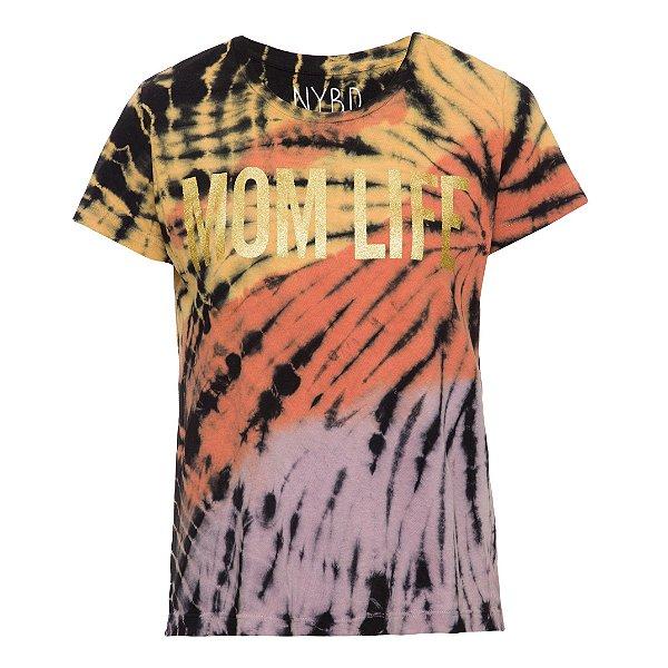Camiseta Mom Life Tie Dye
