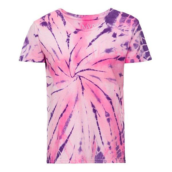 Camiseta básica tie dye 2 Rosas