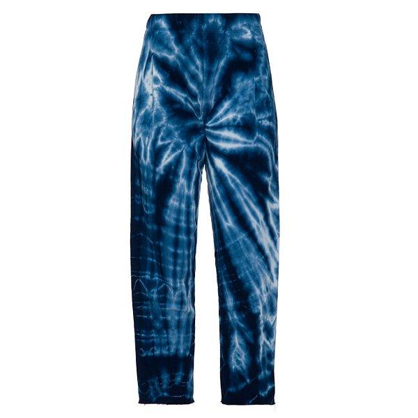 Calça Moletom Tie Dye Azul