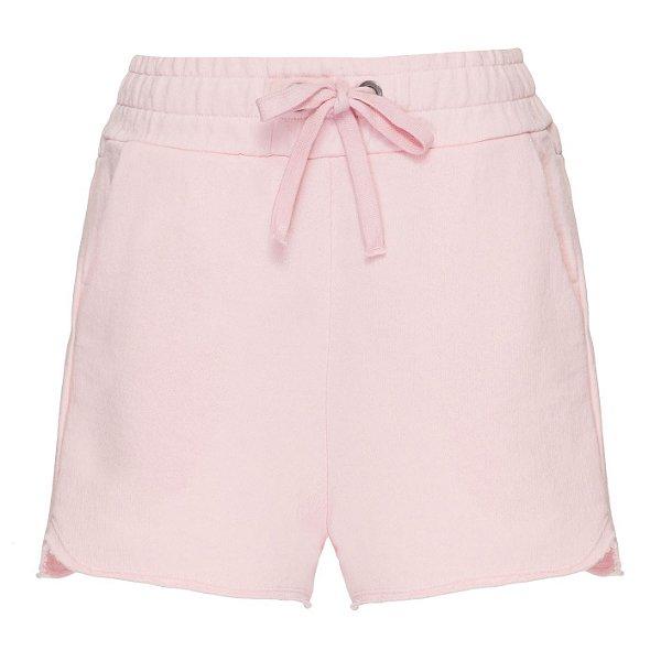 Shorts Moletom Rosinha
