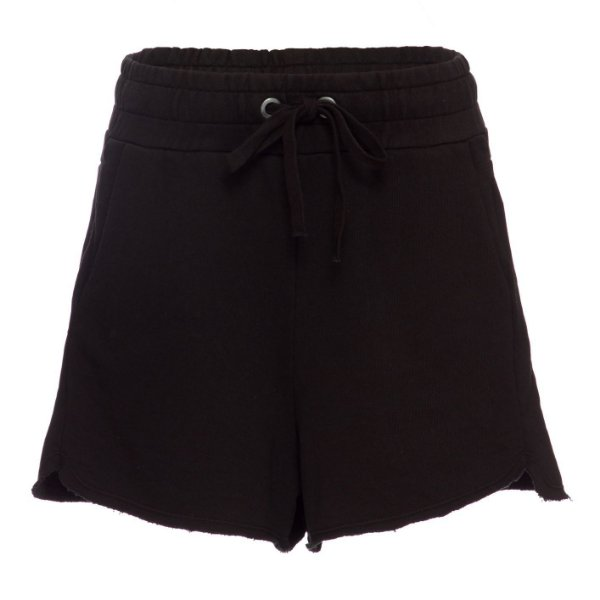 Shorts Moletom Preto