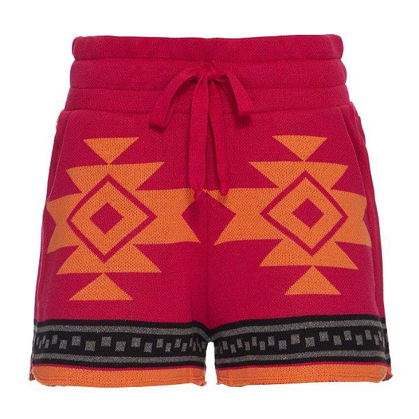Shorts Kimono Pink