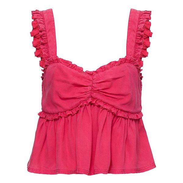 Blusa Babados Pink