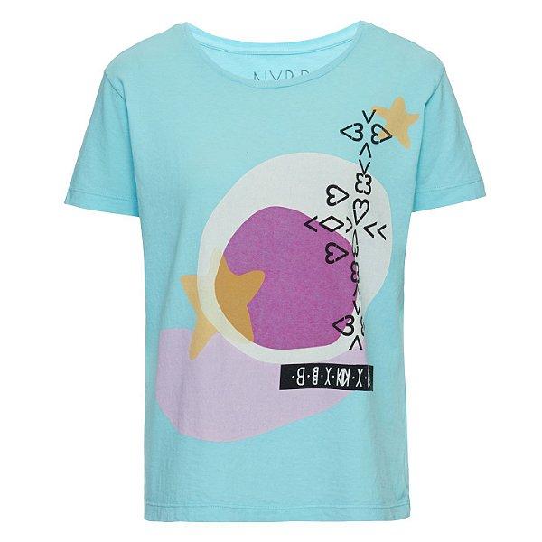 Camiseta Star Acqua