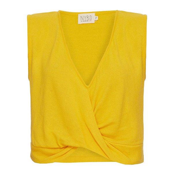 Cropped Torcida Amarelo