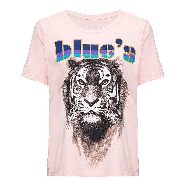 Camiseta Blues Rosinha