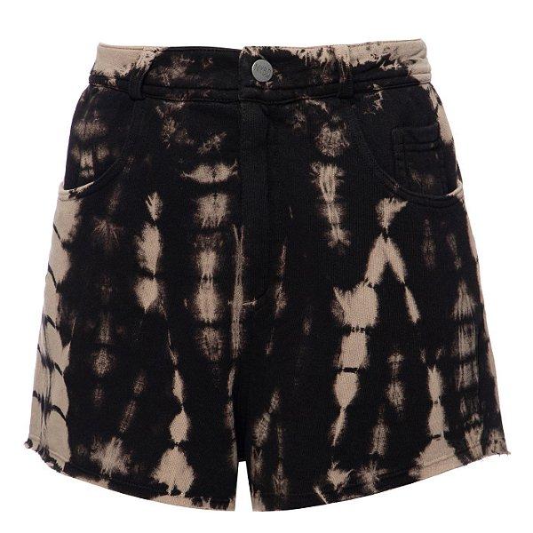 Shorts Five Pockets Tie Dye Madeira