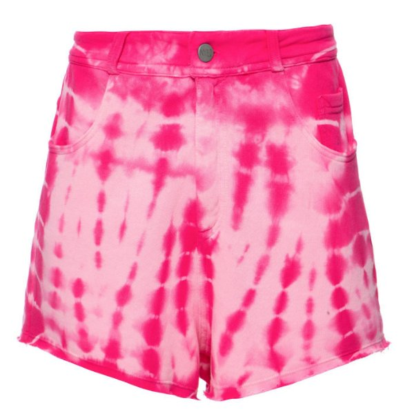 Shorts Five Pockets Tie Dye Pink