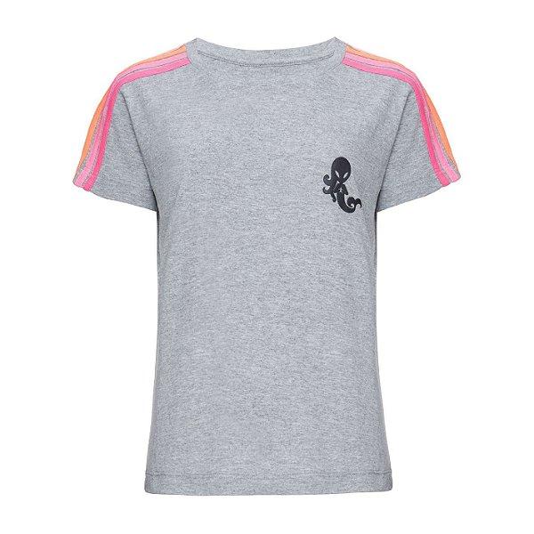 Camiseta Rainbow Mescla Neon