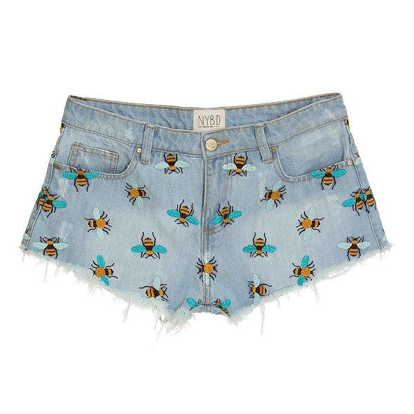 Shorts Pois Abelha