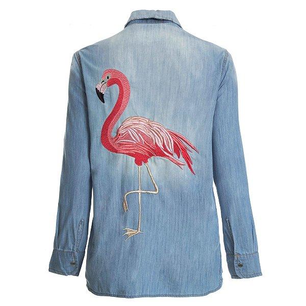 Camisa Always Flamingo