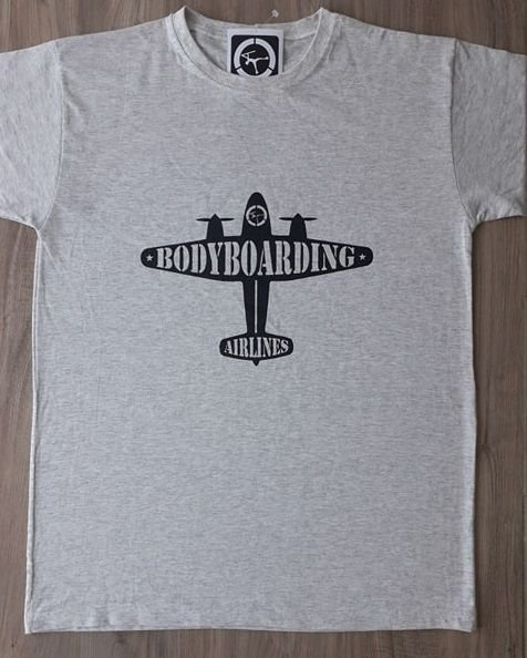 Camiseta Bodyboard Airplane