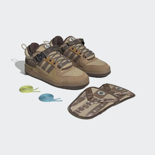 """ADIDAS x BAD BUNNY- Forum Buckle Low """"The First Cafe"""" -NOVO-"""