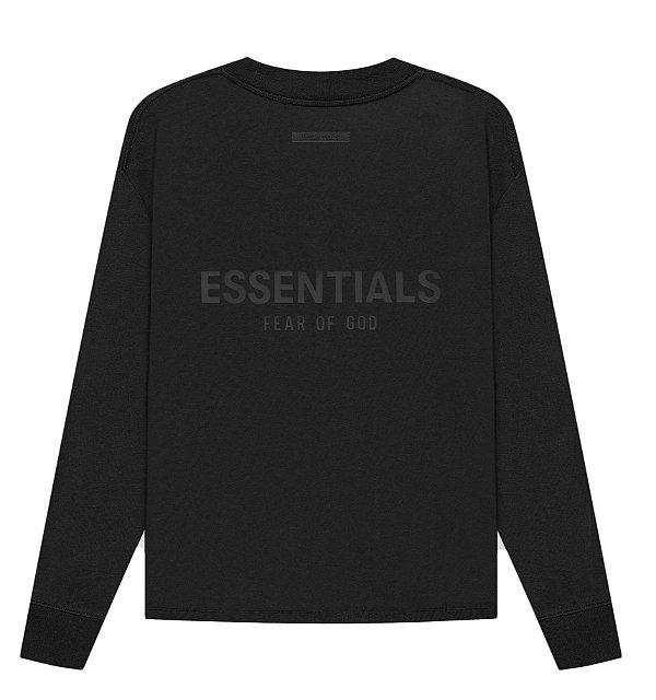 "!FOG - Camiseta Manga Longa Essentials ""Preto"" -NOVO-"