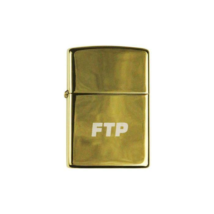 """!FTP - Isqueiro Gold Logo """"Dourado"""" -NOVO-"""