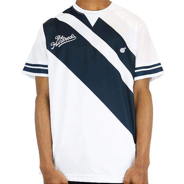 "The Hundreds - Camisa Jersey Spike Volleyball ""Branco"" -NOVO-"