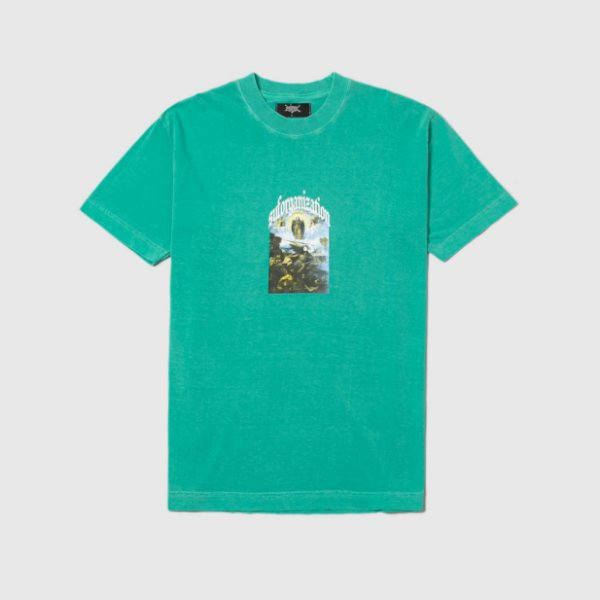"""SUFGANG - Camiseta Bless The Haters """"Verde Água"""" -NOVO-"""