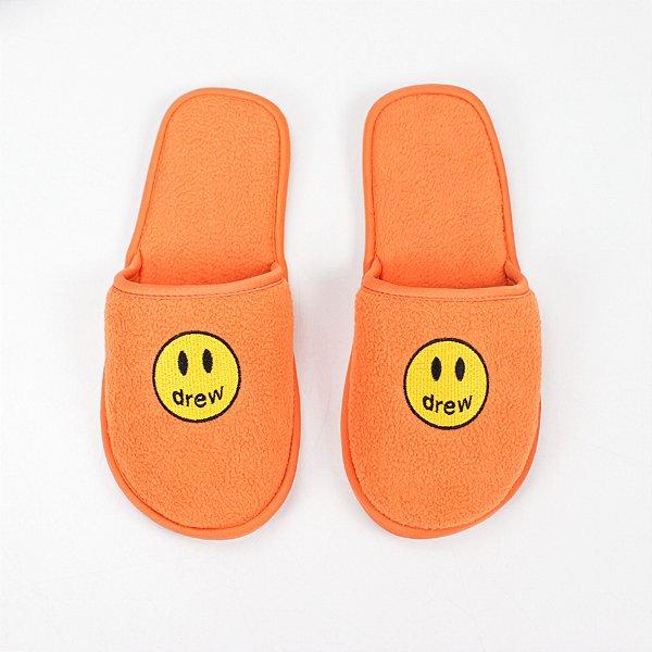 """DREW HOUSE - Pantufa Mascot """"Orange"""" -NOVO-"""