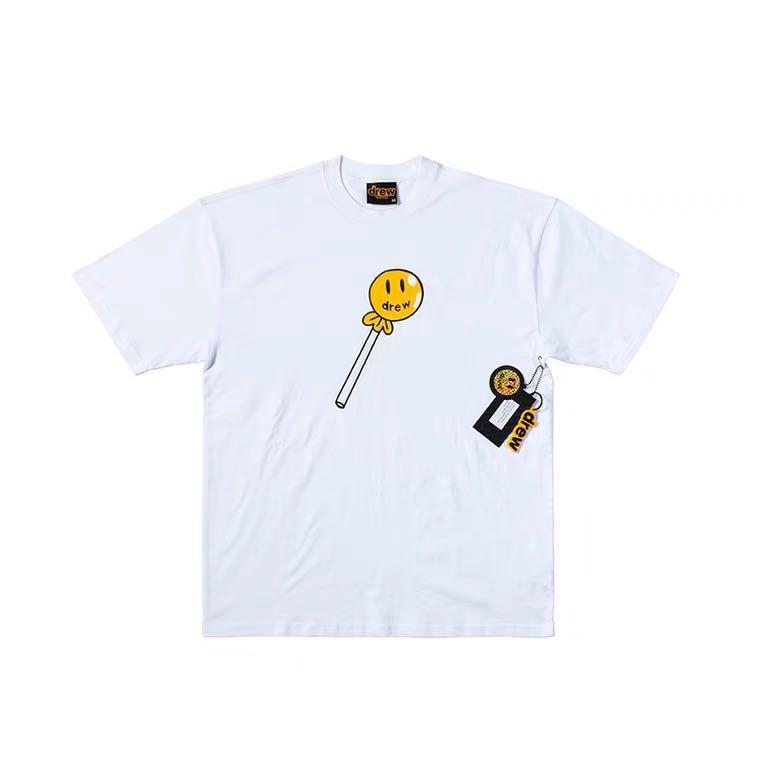 """DREW HOUSE - Camiseta Lollipop """"Branco"""" -NOVO-"""