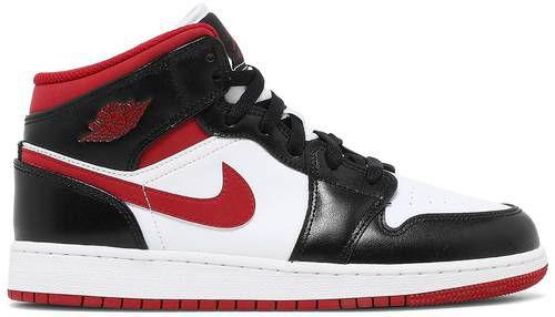 "NIKE - Air Jordan 1 Mid GS ""Black/Gym Red"" -NOVO-"