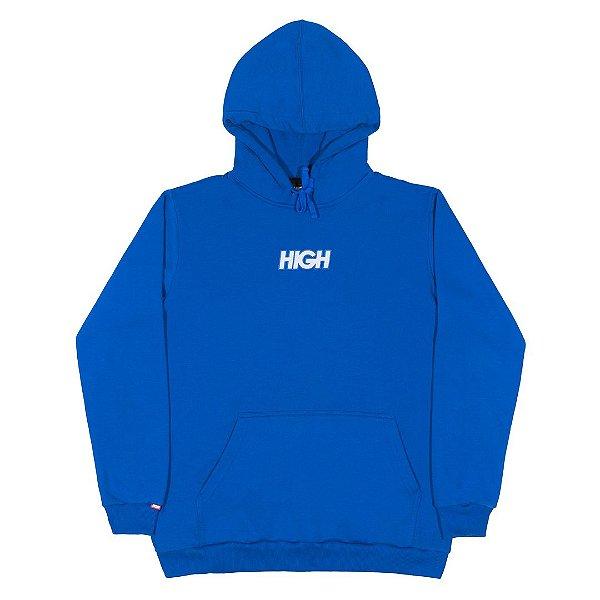 """HIGH - Moletom Reflective Logo """"Azul"""" -NOVO-"""