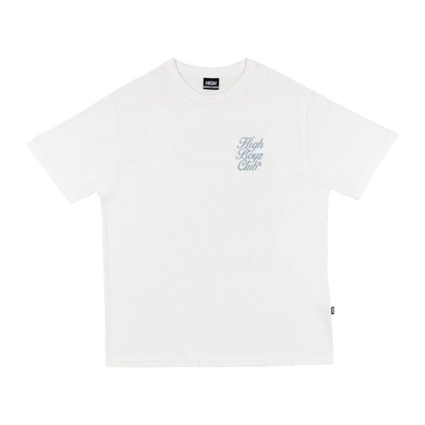 "HIGH - Camiseta Club ""Branco"" -NOVO-"