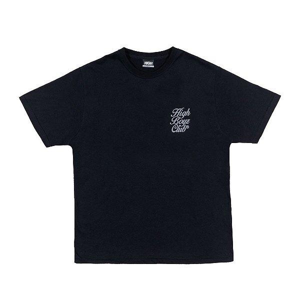 """HIGH - Camiseta Club """"Preto"""" -NOVO-"""
