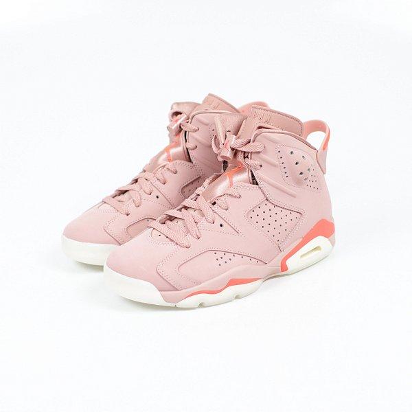 "!NIKE x ALEALI MAY - Air Jordan 6 Retro ""Millennial Pink"" -NOVO-"