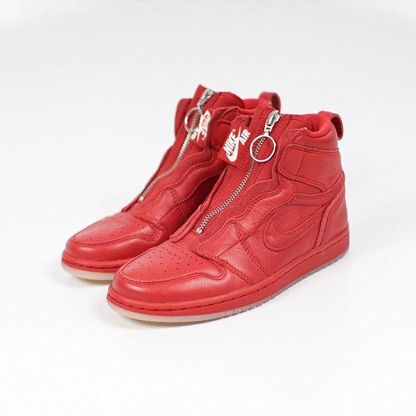 "!NIKE x Anna Wintour x Vogue - Air Jordan 1 Retro Zip ""University Red"" -USADO-"