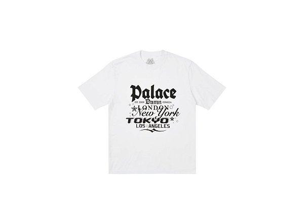 "!PALACE - Camiseta Damb ""Branco"" -NOVO-"
